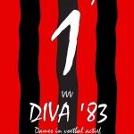 Het voorblad van het clubblad van Diva